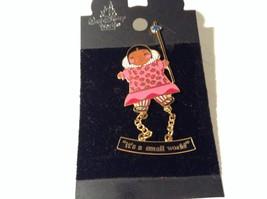 Walt Disney World Its A Small World Pocahontas NEW Pin Brooch image 2