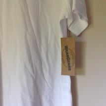 Wear Guard Size Large White Short Sleeve Polo Shirt Original Tag image 3