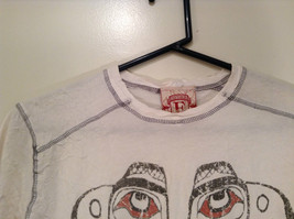 White Graphic Short Sleeve T Shirt 100 Percent Cotton Division Size Small image 3
