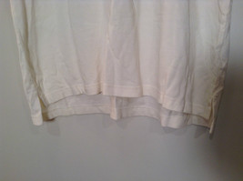 White Short Sleeve IZOD 100 Percent Cotton Polo Shirt Size XL Front Shorter image 4