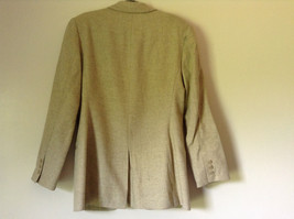 White and Light Brown Design Suit Jacket Blazer by Banana Republic Size 6 image 5