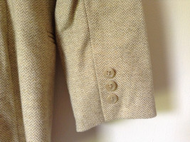White and Light Brown Design Suit Jacket Blazer by Banana Republic Size 6 image 6