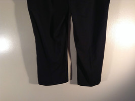 Willi Smith Stretch Dark Brown Casual Pants Crystals Down Side of Pants Size 14 image 5