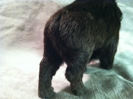 Wild Black Buffalo Animal Figurine - recycled rabbit fur image 7