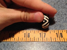 Wooden Hand Carved Ring With V Pattern Size 5, 7, 8, 10 image 6