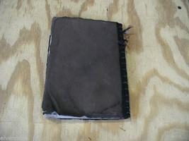 Worn Brown Handmade stitched Book Journal Sketchbook image 4