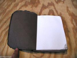 Worn Brown Handmade stitched Book Journal Sketchbook image 5