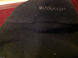 Woolrich Mens Black and Gray Fleece Sleeveless Zippered Vest size Large L image 7
