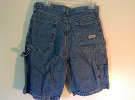 Wrangler Blue Jean Shorts Size 30 Waist Button and Zipper Closure Pockets image 4