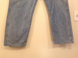 Wrangler Blue Jeans Straight Legs 100 Percent Cotton Size 42 by 30 image 5
