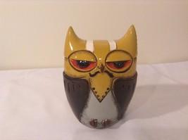 Yellow Black Piggy Bank Owl New Original Packaging image 5