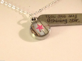 You are my shining star  charm pendant necklace in pewter image 4