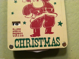 """You Better Not Pout"" Christmas Countdown Hanging Wall Decor image 3"