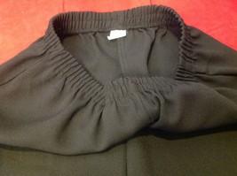 black dress pants women's size 16 p petite image 3