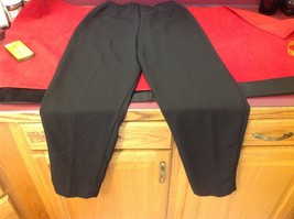 black dress pants women's size 16 p petite image 6