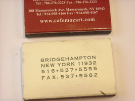 set of 12 Matchbooks and boxes from The Hamptons image 6