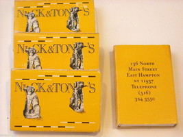 set of 12 Matchbooks and boxes from The Hamptons image 5