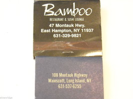 set of 12 Matchbooks and boxes from The Hamptons image 7
