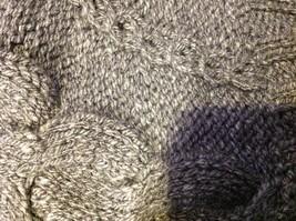 pink rose dark grey short sleeve sweater size large image 6