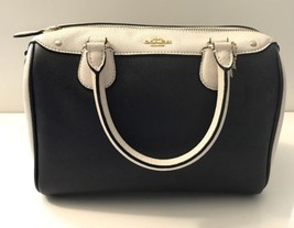 NWT Coach F26153 Mini Bennett Satchel Signature Coated Canvas Crossbody Handbags - $121.49
