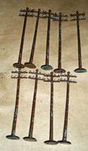 Ho Trains -Utility Poles (9 Utility Poles) - $5.25