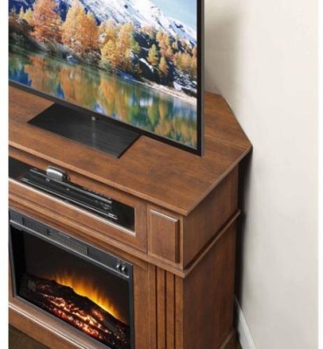 electric fireplace tv stand entertainment center combo
