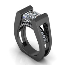 Gothic Tech Geek Engagement Ring Temple of the ... - $2,795.00
