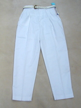 NEW NWT Lord Issacs Sport Cotton Blend Twill Chinos Pants Slacks  Size 15/16 - $18.99
