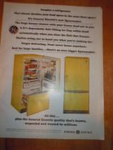 Vintage General Electric Spacemaker Refrigerator Print Magazine Advertisement 19 - $5.99