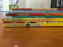 Lot of 6 Baby Toddler Books Preschool Favorites Disney Thomas & Friends - $9.89