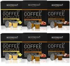 Bestpresso 120-Count Flavor Variety Pack Espresso Capsules - $58.36