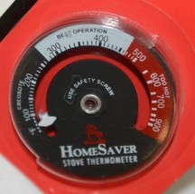 HomeSaver 40900 Magnetic Stove Thermometer Wood And Coal Stoves image 2