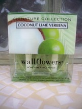 Bath and Body Works Signature Collection Coconut Lime Verbena Wallflower... - $66.99