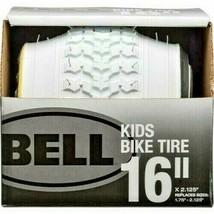 "Bell 16"" Kids' Bike Tire - White X2.125 MAX PRESSURE 35PSI Replaces 16.75-2.125 - $18.65"