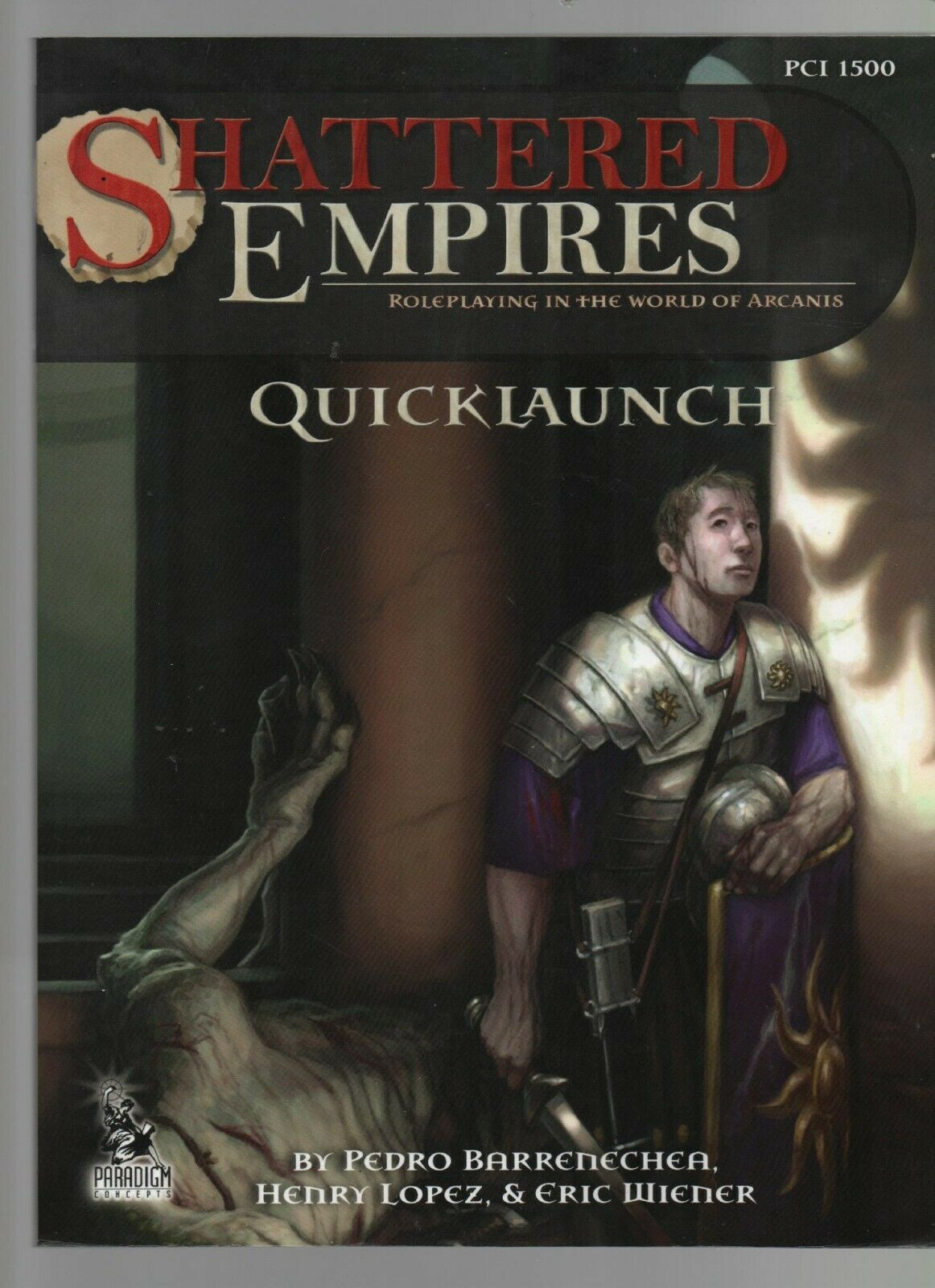Primary image for Shattered Empires - Quicklaunch - SC - 2010 - Andrew Baker - Paradigm Concepts.