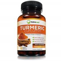 NatraLeaf Turmeric Curcumin with BioPerine - 95% Curcumnoids - 60 Caps - $96.99