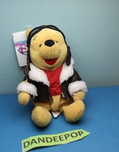 "The Disney Store And Parks Mini Bean Bag Plush Pilot Winnie The Pooh 8"" - $9.89"