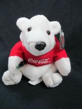Coca-Cola Polar Bear with T-shirt Plush Bean Bag Style  - BRAND NEW - $7.43