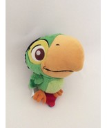 """DISNEY STORE Jake and the Neverland Pirates SKULLY THE PARROT BIRD 6"""" plush - $7.69"""