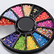 BAHYHAQ - Diamonds Dazzling Tips Nail Sticker Decal Sequins Colorful Nai... - $1.43