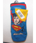 Superman Boys 6 Pairs of Low Cut Socks Size 6-8... - $7.69