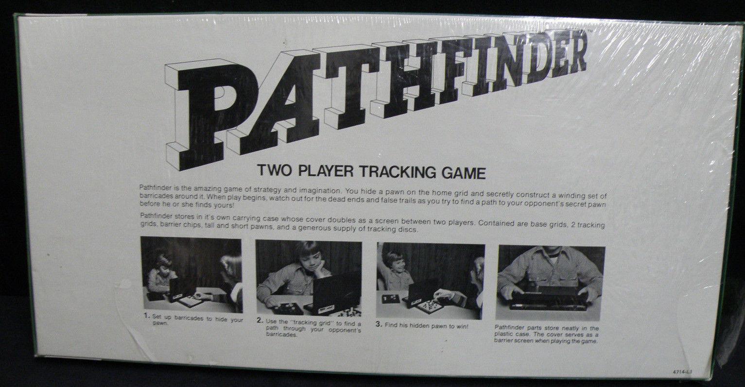 NOS PATHFINDER VINTAGE 1977 MILTON BRADLEY BOARD GAME COMPLETE SEALED NIB UNUSED