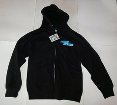 Rouge Status Black Zip Front Hoodie Size Small BNWT - $39.99
