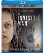 The Invisible Man (Blu-ray + DVD + Digital, 2020) - $19.95