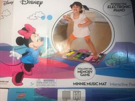 Disney Interactive Music Piano Minnie Music Mat No Box M05 - $13.45