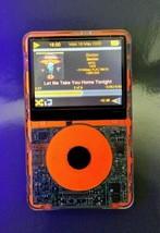 Fluorescent Orange 256GB iPod Classic Video 5th Gen Transparent PA149LL - $365.00
