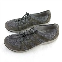 Dansko Gray Sneakers Comfort Shoes Bungee Laces Womens 41 US 10.5 to 11 - $44.47