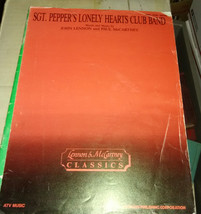 Beatles Sergeant Pepper's Lonely Hearts Club band sheet music - $18.99