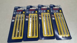 Lot of 4 Packs - Bosch U101D3 3-5/8 Inch 6 Tooth Blade U-SHANK WOOD (3/P... - $20.85
