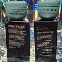 2x Tatcha 5mL THE Water CREAM mini Great For ALL Skin Types image 4